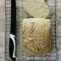 Baking in a bread machine: Yogurt Bread with Oats