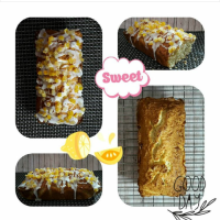 Baking in a bread machine: Coconut Lemon Loaf